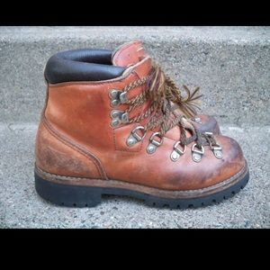 Red Wing Irish Setter Hiking Leather Mens Boots 6